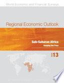 Regional Economic Outlook  October 2013