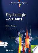 illustration Psychologie des valeurs