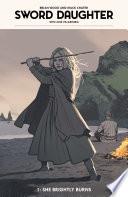 Sword Daughter : cover and chapter break art, greg...