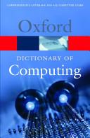A Dictionary Of Computing book
