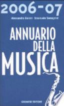 Annuario della musica  2006 2007