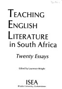 Teaching English Literature in South Africa