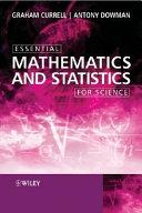 Essential Mathematics and Statistics for Science
