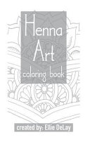 Henna Art Coloring Book