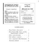 Nero su bianco organo ufficiale quindicinale della federazione nazionale fascista commercianti del libro  della carta ed affini