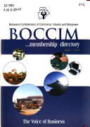 BOCCIM Membership Directory : ...