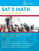 SAT II Math Level 1 Study Guide