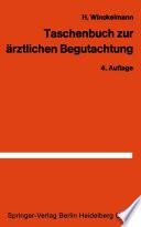 Taschenbuch zur   rztlichen Begutachtung in der Arbeiter  und Angestelltenrentenversicherung