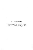 Le Magasin pittoresque