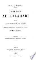 Huit mois au Kalahari