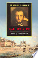 The Cambridge Companion to Baudelaire