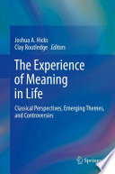 The Experience of Meaning in Life