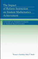 The Impact of Reform Instruction on Student Mathematics Achievement