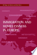Immigration and Homelessness in Europe