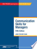 Communication Skills for Managers  Fifth Edition