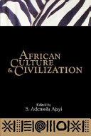 African Culture   Civilization