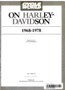 Cycle World on Haley Davidson 1968 78