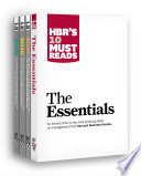 HBR s 10 Must Reads Big Business Ideas Collection  2015 2017 plus The Essentials   4 Books   HBR s 10 Must Reads