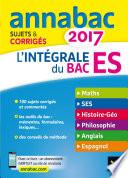 Annales Annabac 2017 L int  grale Bac ES