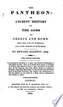 The Pantheon: or Ancient history of the gods of Greece and Rome ... The fifth edition. With engravings