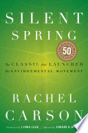 Silent Spring : use of pesticides and warns...