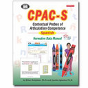 CPAC S   Contextual Probes of Articulation Competence   Spanish  Probes Only