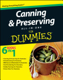 Canning And Preserving All In One For Dummies