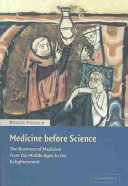 Medicine Before Science