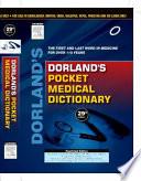Dorland s Pocket Medical Dictionary  29 e