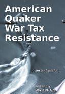 American Quaker War Tax Resistance Book PDF