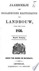 Jaarboekje van de Hollandsche Maatschappij van Landbouw voor ....