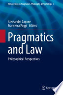 Pragmatics and Law