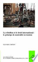 illustration La rébellion et le droit international