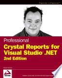Professional Crystal Reports for Visual Studio  NET