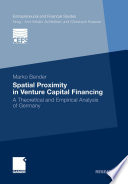 Spatial Proximity in Venture Capital Financing