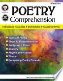 Poetry Comprehension  Grades 6   8