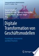 Digitale Transformation von Gesch  ftsmodellen