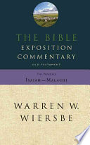 The Bible Exposition Commentary book