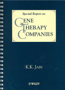 Book A Special Report on Gene Therapy