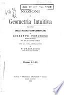 Nozioni di geometria intuitiva ad uso delle scuole complementari