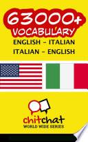 63000  English   Italian Italian   English Vocabulary