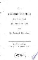 Der philosophische Arzt