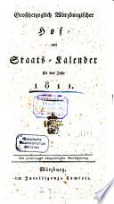 Großherzoglich Würzburgischer Hof- und Staats-Kalender