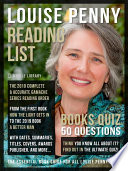 Louise Penny Reading List