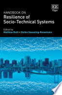 Handbook On Resilience Of Socio Technical Systems