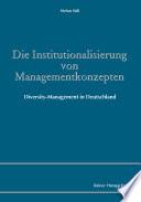 Die Institutionalisierung von Managementkonzepten