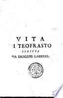 Vita di Teofrasto scritta da Diogene Laerzio