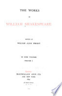 The Works of William Shakespeare  The tempest  The two gentlemen of Verona  The merry wives of Windsor  Measure for measure  The comedy of errors