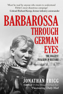 Barbarossa Through German Eyes
