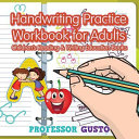 Handwriting Practice Workbook for Adults